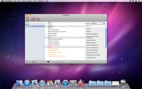 TextSoap screen 2