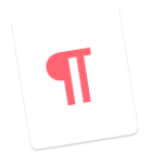 Paragraphs logo