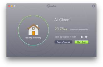8.1 Cleanup Complete - All Clean